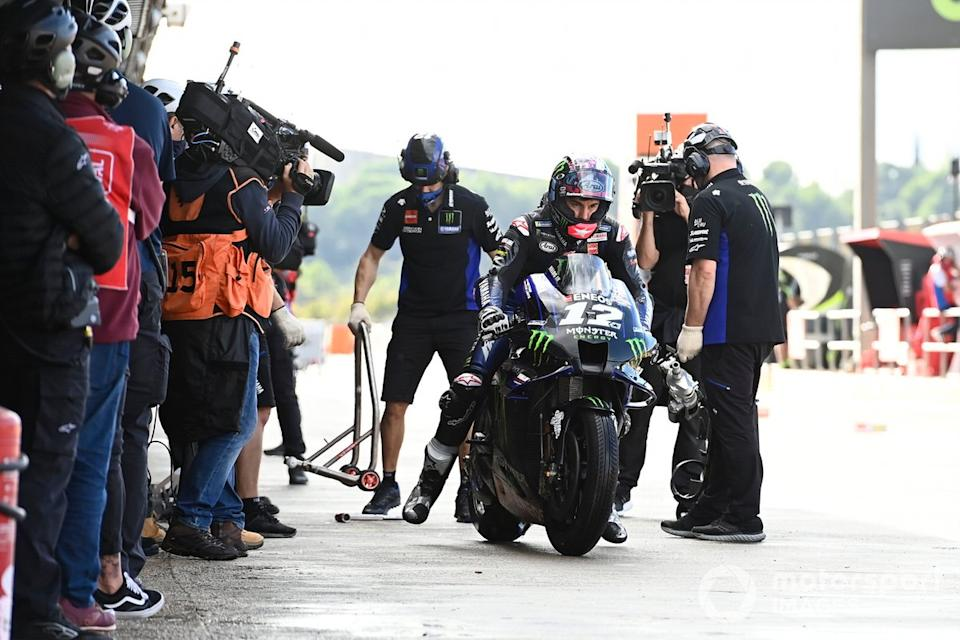 "Maverick Viñales, Yamaha Factory Racing<span class=""copyright"">Gold and Goose / Motorsport Images</span>"