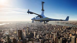 Jaunt Air Mobility's Vertical Takeoff and Landing (eVTOL) Aircraft