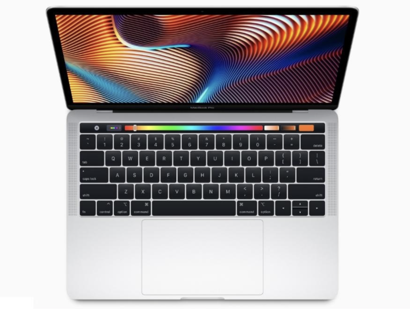 I nuovi MacBook Pro supportanoi i processori Intel quad-core di ottava generazione (i5 da 1.4 GHz)