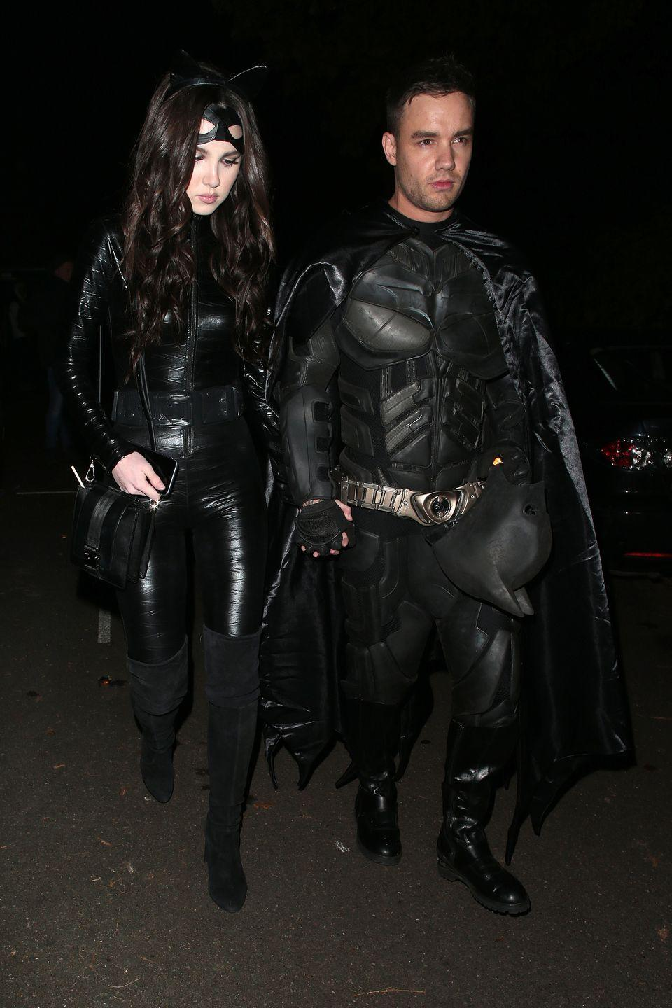 <p>No, Liam Payne isn't throwing his hat in the ring to play <em>Batman. </em>He simply took Halloween very seriously in 2019, with his girlfriend, Maya Henry. </p>