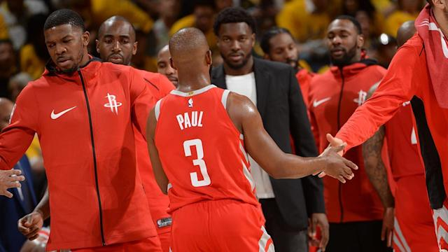 The Houston Rockets suffered a 41-point loss to the Golden State Warriors in Game 3, but John Starks argues that the Western Conference Finals are not over... yet.