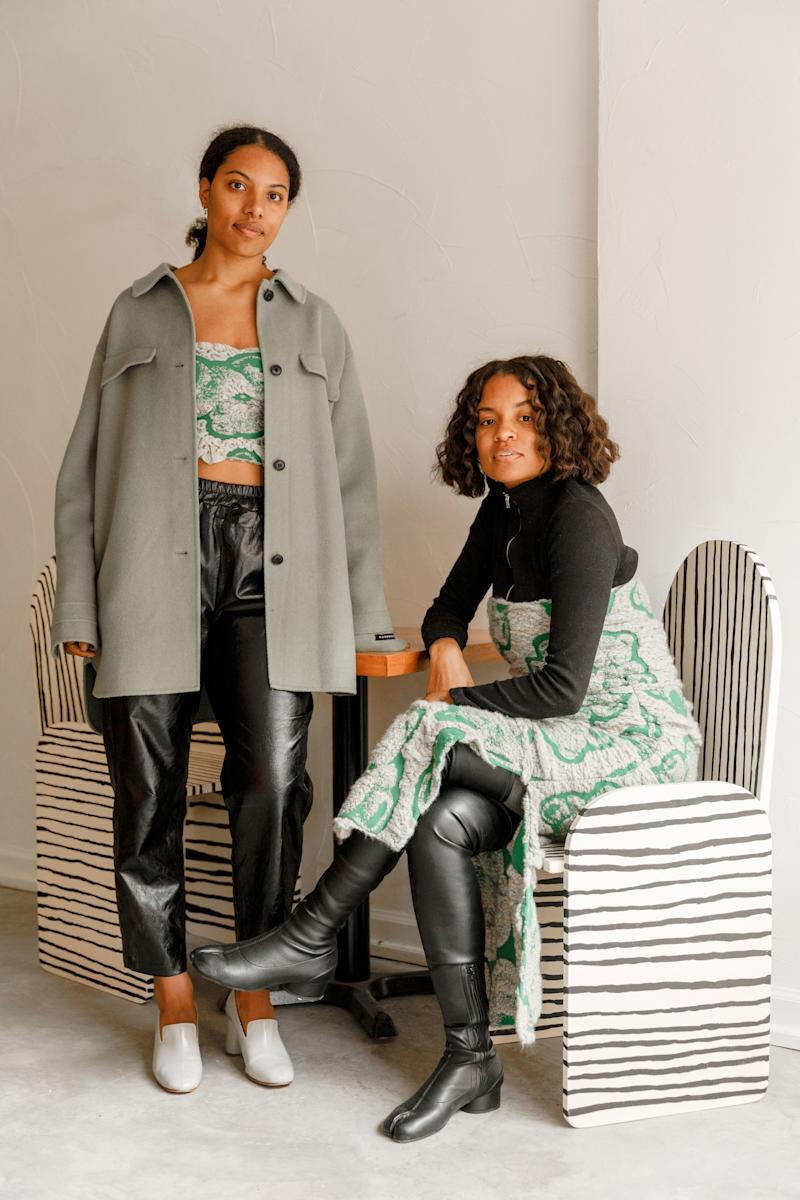 S, T, Eat and Stay owner and designer Kai Avent-deLeon and chef Tara Thomas.