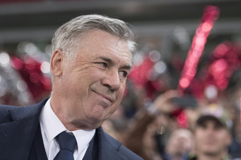 Ancelotti is set to join struggling Everton. (Photo by Andreas Schaad/Bongarts/Getty Images)