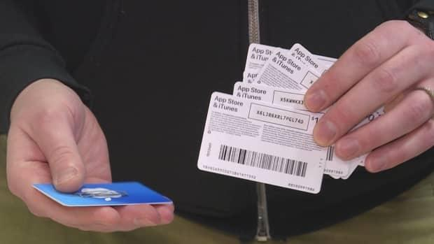 RCMP say scammers will often ask for payments in money that is not easily tracked, such as gift cards.