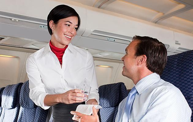 Flight attendants have revealed what they notice about you when you board a plane. Photo: Getty