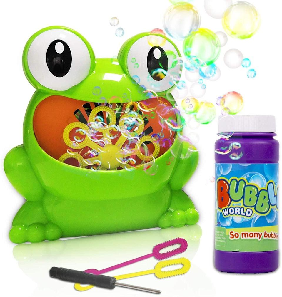 <p>Create endlessly fun days with this <span>ToyerBee Bubble Machine</span> ($11). It's also the perfect addition to a birthday party.</p>