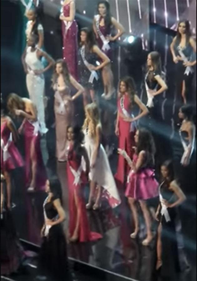 The contestant danced like nobody was watching. Photo: Youtube