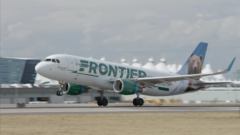 Frontier Airlines is headquartered in Denver.