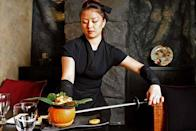 """<p>This New York Japanese restaurant takes on a ninja theme, with ninja waiters and waitresses that not only serve you dinner, but also perform incredible magic tricks and acts for a full ninja experience. <a href=""""http://forknplate.com/2014/11/11/4-restaurants-in-nyc-that-take-you-on-a-journey/"""" rel=""""nofollow noopener"""" target=""""_blank"""" data-ylk=""""slk:(Photo Credit)"""" class=""""link rapid-noclick-resp""""><i>(Photo Credit)</i></a></p>"""