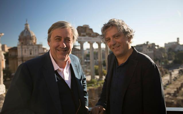 "Friday 5 January Rome Unpacked BBC Two, 9.00pm; Wales, 9.30pm ""I cannot imagine anything in life better to do than this,"" says the chef Giorgio Locatelli as he speeds around Rome on a Vespa with art critic Andrew Graham-Dixon. Here they return for another of their Italian jaunts, this time taking in the culture and cooking of the Italian capital, and its ""divided, opinionated, passionate and unpredictable"" inhabitants. The pair make an engaging double act: effervescent, witty and knowledgable. Their journey opens at Rome's Capitoline Hill, the ancient meeting place of the ""great and powerful and the mob"", as Graham-Dixon and Locatelli marvel at the work of Michelangelo before visiting that magnificent display of papal showmanship, the Trevi fountain. ""As famous as Italian cream,"" says Graham-Dixon, who adds that it was Federico Fellini who gave the fountain cinematic resonance in La Dolce Vita, before he explores how another artist, Caravaggio, captured the city's soul. Never far behind with a quip or insight, Locatelli comes into his own in the market of San Giovanni di Dio, where he prepares a staple Roman dish – skate with broccoli soup. ""This is Rome,"" says Graham-Dixon. ""Intenso."" Simon Horsford Dirk Gently's Holistic Detective Agency Netflix, from 8.00am This US adaptation of Douglas Adams's outlandish detective stories returns for a second season with Dirk Gently (Samuel Barnett) on the run from the CIA, while his sidekick Todd (Elijah Wood) attempts to save him. Live FA Cup Football: Liverpool v Everton BBC One, 7.30pm Four weeks after they met at Anfield in the Premier League, Merseyside rivals Liverpool take on Everton once again, this time in the FA Cup third round. The previous match finished in a 1-1 draw and Toffees manager Sam Allardyce believes that his side are capable of claiming a place in European football's club competitions, as well as reaching the domestic cup finals. But first he must steer his side past their cross-city rivals. That may be easier said than done, as Liverpool have been on fine form going forward, scoring five goals in their last game alone. But for as good as they are going forward, the Kop have been inconsistent at the back – which is something that manager Jurgen Klopp is keen to rectify. River Monsters ITV, 8.00pm; not UTV or Wales Fearless host Jeremy Wade heads to New Britain in Papua New Guinea, where he hears from fisherman about a mysterious big-headed black fish that has on occasion attacked them. Costa Del Celebrity Channel 5, 8.00pm Celebrities used to present ""travel"" documentaries on their own – now they do it in groups. The latest on the treadmill sees Anne Diamond, Nick Owen, Ainsley Harriott, Christine Hamilton and Vicki Michelle head to the Costa Blanca. Breaking a Monster Sky Arts, 9.00pm A charming rockumentary detailing the machinations of the music industry and the rise of three African-American children in Brooklyn, from heavy-metal street band to securing a million dollar record deal. Luke Meyer's film follows the remarkable ascent of Unlocking the Truth, a personable bunch of seventh graders with distinctive personalities. Will & Grace Channel 5, 10.00pm American sitcom Will & Grace was groundbreaking for its depiction of gay characters on TV. It now returns after an 11-year absence to a very different world. The question is, does it match up? To an extent, it does. Will (Eric McCormack), Grace (Debra Messing), Jack (Sean Hayes) and Karen (Megan Mullally) deliver with the same zest, but with added relevance – there are references to Grindr, Melania Trump, and fake news. In the first episode, Will and Grace's political beliefs are put to the test. Graham Norton's Good Guest Guide BBC One, 10.35pm Graham Norton has a knack for attracting ""A-listers"" to his sofa but what makes a good guest? Here he gives his advice to the stars. SH Radio 2 in Concert: Tears for Fears BBC Four, 11.00pm Jo Whiley presents as the Eighties synth-pop masters perform a set at London's BBC Radio Theatre. It includes such era-defining hits as Mad World and Shout. SH Triple Cross (1966) ★★★☆☆ BBC Two, 12.10pm This slow-paced Second World War drama is loosely based on the exploits and autobiography of Eddie Chapman (Christopher Plummer), a British safe-cracker who offered both the Third Reich and British Intelligence his services as a spy while he was a prisoner in the Channel Islands. The lack of suspense makes you wonder if this is really the same director – Terence Young – who did the quick-fire early James Bond films. The Beatles: Eight Days a Week: The Touring Years (2016) ★★★☆☆ Channel 4, 9.00pm While you watch this peppy documentary from Ron Howard, which focuses on the band's notoriously hectic touring period, from 1962-66, you feel pop history whistling past at speed. ""We were force-grown, like rhubarb,"" John Lennon observes in one of many well-chosen snippets. It's a line that chimes with every step Howard shows us the band taking. Bridesmaids (2011) ★★★★★ ITV2, 9.00pm This sharply written and hilarious comedy combining bad taste with good humour is a valiant backlash against sugary chick flicks, but also a poignant evocation of loneliness. Annie (Kristen Wiig) agrees to be her best friend Lillian's (Maya Rudolph) maid of honour, but finds herself competing with a richer, more elegant bridesmaid (Rose Byrne). Saturday 6 January Jim Sturgess and Agyness Deyn Credit: BBC Hard Sun BBC One, 9.35pm The BBC launches into 2018 with this hard-boiled crime drama from Luther creator Neil Cross. It seems like a standard police procedural at first. Slick detective Charlie Hicks (Jim Sturgess) is paired up with an inscrutable new colleague, Elaine Renko (Agyness Deyn), and they head off to investigate an apparent suicide. Quickly, however, both the case and characters gather complexity. For a start, the main players have enticing back stories: Hicks is involved in a sensitive extramarital dalliance, whilst Renko is psychologically bruised from a recent violent break-in at her home. Equally intriguing, however, is the sci-fi-inspired twist that the investigation takes. We learn that behind the suicide lies an exchange of top-secret information confirming the destruction of the world in five years time. Goofy though this sounds, it gives undeniable tension to the episode as shadowy forces close in on our duo, and nicely sets things up for further thrills should news of the apocalypse break out. Sturgess and Deyn have enough chemistry to convince, and London, at its most relentlessly urban here, provides a bleakly atmospheric backdrop. Toby Dantzic FA Cup Football: Fleetwood Town v Leicester City BBC One, 12.45pm How's this for a David-versus-Goliath affair, as League One's Fleetwood Town take on the 2016 Premier League winners at Highbury Stadium? The Leicester have made it to the FA Cup final on four occasions but have never won the competition. The last time they appeared in the final, in April 1969, they lost 1-0 to Manchester City. Darts: BDO Lakeside World Professional Championships Channel 4, 12.45pm Coverage of the opening day of the tournament staged at Lakeside Country Club in Frimley Green, featuring matches in the first round of the men's and ladies' competitions. Forty men and 16 women from 17 countries do battle for the coveted prizes, won last year by Glen Durrant and Lisa Ashton. This afternoon, three-time Lakeside champion Martin ""Wolfie"" Adams takes on the number two seed Mark ""Gladiator"" McGeeney, before Ashton starts the defence of her title against Wales's Rhian Griffiths. Hugh's Wild West BBC Two, 6.15pm; Northern Ireland, 7.45pm Eco-friendly chef Hugh Fearnley-Whittingstall takes us on a nature trail through his beloved West Country for this new series. He starts in the Wye Valley, ""one of nature's secret gardens"", where he introduces us to the Dipper, Britain's only aquatic songbird. Wedding Day Winners BBC One, 7.25pm Lorraine Kelly and Rob Beckett host this new nuptial-themed Saturday night entertainment show. Two couples, along with their friends and families, compete in a series of challenges to win a televised wedding and lavish honeymoon. The Voice UK ITV, 8.00pm After just one series, last year's new coach Gavin Rossdale is out nd in comes X Factor success story Olly Murs, as the singing contest begins its staggering seventh run. Emma Willis returns as the host, as the blind auditions get under way. Spiral BBC Four, 9.00pm and 10.00pm One of the first shows to pique our interest in European crime drama, this much-admired French series returned last week for its sixth outing. The discovery of a torso in a suitcase prompted tough police captain Laure Berthaud (Caroline Proust) to return from her maternity leave. This week, Berthaud and partner Lt Escoffier (Thierry Godard) grill two brothers who they believe have links to the deceased, and lawyer Joséphine Karlsson (Audrey Fleurot) pushes her client to plead guilty. Freddie Mercury: The Great Pretender Sky Arts, 9.00pm Rhys Thomas's 2012 documentary explores Queen singer Freddie Mercury's attempt to forge a solo career in the Eighties. The insights from his peers and the concert footage are compelling, but it's the previously unseen interviews with and snippets of his collaborations with the likes of Michael Jackson that prove revelatory. TD Feud: Bette and Joan BBC Two, 9.15pm and 10.00pm Delightfully camp but moving all the same, Ryan Murphy's dramatisation of this great Hollywood rivalry concludes with one last double bill. Joan Crawford (Jessica Lange) becomes increasingly riled by Bette Davis (Susan Sarandon), as the latter interferes with her performance on their latest film collaboration, Hush… Hush, Sweet Charlotte. TD West Side Story (1961) ★★★★★ Channel 5, 11.40am The vertiginous energy and heart make this one of the greatest musicals. Jerome Robbins's inspired choreography needs the biggest screen it can get; when the film's firing on all cylinders of music, lyrics and motion, there's little to touch it. Natalie Wood and Richard Beymer are lovers from opposite sides of the tracks, while Leonard Bernstein's heady score perfectly aids their battle. The Letter (1940, b/w) ★★★★☆ BBC Two, 3.00pm By 1940, Bette Davis was the biggest star. She'd just won her second Oscar for Jezebel, giving a performance that typified women of the era – wild, wilful, destructive, bitchy. But in William Wyler's film noir, based on W Somerset Maugham's short story, she careened towards tragedy with self-annihilating abandon. Davis plays Leslie, who kills a man in self defence, but an incriminating letter casts doubt on her story. The Hunger Games: Mockingjay – Part 2 (2015) ★★★★☆ Channel 4, 9.00pm Jennifer Lawrence and Philip Seymour Hoffman – in his last film – end the Hunger Games series with an electrifying, high-stakes final showdown. In addition to the two leads, Part 2 groans with the collective talents of Donald Sutherland, Julianne Moore and Woody Harrelson as vengeful modern heroine Katniss (Lawrence) prepares to win the war. Sunday 7 January Michael Palin Credit: BBC Michael Palin: a Life on Screen BBC Two, 9.00pm Telling Michael Palin's story from his birth to the film Death of Stalin (in which he played Minister Molotov), this profile of the ""Nicest Man in Showbiz"" is a pleasure from start to finish. First realising his talents in improvised shows for his school friends, Palin found kindred spirits and his comic mojo as part of the Oxford Revue at the Edinburgh Festival, eventually parlaying his skills as a jobbing writer and performer into a series that changed the comedy landscape forever: Monty Python's Flying Circus was born after an apparently disastrous meeting ended with a BBC commissioner pronouncing sternly, ""all right, I'll give you 13 episodes. But that's all!"" While John Cleese provides the tongue-in-cheek venom (describing Palin as ""a sociopath""), Connie Booth, David Jason and Armando Iannucci pay tribute to a versatile talent. An abundance of clips confirm that alongside the comic genius of Python and Ripping Yarns lay a serious actor of genuine heft (as seen in GBH and Brazil), the gifted travel journalist of Around the World in 80 Days and a successful and engaging diarist. Palin, too, chips in with observations and memories, all delivered with charismatic humility and self-deprecation. Gabriel Tate Into the Forest BBC Three, from 10.00am This uneven but intriguing Canadian indie film didn't find much of an audience when it was released in 2015 but will be now shown online via BBC Three. Evan Rachel Wood (Westworld) and Ellen Page (Juno) star in this dystopian drama as Nell and Eva, two sisters living in a forest with their father in the near future. They find their isolated existence under threat when a district-wide power cut sparks anarchy and increasing desperation in the nearby town. FA Cup Football: Shrewsbury Town v West Ham United BBC One, 1.40pm More potential giant-killing in the FA Cup, as League One side Shrewsbury Town try to cut down West Ham at Montgomery Waters Meadow. The visitors have won the FA Cup three times but haven't lifted the trophy since 1980, when they beat Arsenal 1-0, thanks to a goal by Trevor Brooking. Shrewsbury made it through to the third round by beating against Aldershot Town and Morecambe. Premiership Rugby Union: Wasps v Saracens BT Sport 1, 2.30pm Having beaten Bath 31-26 at the Rec last weekend, Wasps look to continue their fine form in the new year at home to second-placed Saracens. The away side will be full of confidence, though: they capped off an impressive 2017 with a 46-31 victory over Worcester Warriors, with Jackson Wray and Nathan Earle both scoring try doubles as Saracens ran in six tries at Allianz Park. When these sides last met here, a hat-trick from Thomas Young helped Wasps to a 35-15 victory. A repeat performance here will see them leapfrog Saracens in the table. Dancing on Ice ITV, 6.00pm Back after a four-year absence, Jayne Torvill and Christopher Dean return with Dancing on Ice, but they are no longer coaches. They are now be assessing the ice-skating abilities of a dozen celebrities, including Bucks Fizz alumna Cheryl Baker and Great British Bake Off 2016 champion Candice Brown. Joe Cocker Night Sky Arts, from 6.45pm One of the finest of all the white blues and soul shouters, Joe Cocker's gargling, howling delivery was most famously captured in his performance of With a Little Help from My Friends at Woodstock. This double bill begins with the concert film Fire It Up: Live, and Cocker performing in Cologne on his final tour before his death in 2014. John Edginton's biographical documentary, Mad Dog with Soul, follows at 9.00pm. GT Attenborough and the Sea Dragon BBC One, 8.00pm David Attenborough pursues his lifelong passion of fossilology on Britain's Jurassic Coast. The 200-million-year-old bones of an Ichthyosaur must be dug out of the Dorset cliffs, analysed and finally recreated using computer technology. Vera ITV, 8.00pm The eighth series of the murder mystery begins with DCI Vera Stanhope (the excellent Brenda Blethyn) investigating how a respected fraud officer came to be incinerated in an abbatoir. Her enquiries lead her into a close-knit fishing community and clashes with her fellow coppers. The Biggest Little Railway in the World Channel 4, 8.00pm In this extraordinary venture, Dick Strawbridge and a team of fellow enthusiasts attempt to build a model railway to stretch 71 miles from Fort William to Inverness. The project will require viaducts, bridges and even a miniature ferry, all documented over the next five weeks. GT And Now for Something Completely Different (1971) ★★★★☆ BBC Two, 10.00pm; N Ireland, 11.30pm Fans of Monty Python's Flying Circus rejoice – this compilation film is a feast of the comedians' favourite sketches from the first two TV series. With John Cleese introducing a number of scenes with: ""And now, for something completely different"", it's a fun trip into the archives, including as the ""dead parrot"" sketch. Captain Phillips (2013) ★★★★☆ ITV, 10.10pm Paul Greengrass (United 93 and three Bourne films) has a rare gift for working with action-thriller material and making something cohesive, layered and complex from it. With this account of Somali pirates boarding an American cargo ship and kidnapping its captain (Tom Hanks), he remains at the top of his game. Hanks may be the big draw, but it's the pirates who impress, especially Bafta-winning Barkhad Abdi. Stations of the Cross (2015) ★★★☆☆ BBC Four, 11.00pm This cold, preachy German film from director Dietrich Brüggemann plays out over 14 single-shot scenes, each titled after a station of the cross on Christ's walk to Calvary and to mirror the restrictions of religious fundamentalism. Its story, about a 14-year-old girl who pursues the ideals of Christian self-sacrifice to terrifying extremes, won the best script gong at the Berlin International Film Festival. Monday 8 January Archie Panjabi Credit: ITV Next of Kin ITV, 9.00pm Written by Indian Summers creator Paul Rutman and partner Natasha Narayan, this atmospheric six-part thriller has a fine cast and gets off to an instantly intriguing start. Emmy-winner Archie Panjabi is a smart and sympathetic presence as British-Pakistani doctor Mona Harcourt, who, together with her well-connected political lobbyist husband Guy (Jack Davenport) and wider family, is preparing to celebrate the return from Lahore of her beloved brother Kareem (Navin Chowdhry). His failure to arrive as expected on the day a terrorist incident in London results in four deaths, and brings the city to a standstill. It sets in motion a series of terrifying consequences – the most disturbing of which is the sudden intense interest in the family of the anti-terrorism unit of the Metropolitan Police. It is a credible, and in parts distressing, depiction of what it is like to be an ordinary British Muslim in the wake of such an attack, especially when it emerges that the real focus of the police investigation is not Kareem, but his 18-year-old student son Danny (Viveik Kalra) who had been becoming increasingly isolated from the family in the weeks before the attack. Gerard O'Donovan Star Trek: Discovery Netflix, from today Following an eight-week break, the latest incarnation of the Star Trek franchise returns to complete its debut run. The previous episode ended on a twist that saw the USS Discovery cast out into unchartered space. Unsurprisingly, this 10th episode picks up with Captain Lorca (Jason Isaacs) and crew facing a raft of previously unimagined threats in their eventful efforts to find a way home. How to Lose Weight Well Channel 4, 8.00pm Dr Xand van Tulleken and dietician Hala El-Shafie take a new approach to diet testing, dividing a group of volunteers into three categories: crashers (short-term diets), shape shifters (six-week programmes) and life changers (four-month plans) to see which of the current popular diets are most effective. Silent Witness BBC One, 9.00pm The enduringly popular pathologists-playing-cops drama kicks off its 21st series with a typically slow burn two-parter. As Nikki Alexander (Emilia Fox) struggles to get over her Mexican ordeal, a close friend (Emma Fielding) goes missing. Surgeons: At the Edge of Life BBC Two, 9.00pm Queen Elizabeth Hospital Birmingham's busy surgical unit is the focus of this new series following surgeons, theatre staff and patients through operations at the cutting edge of medicine. In the first edition, maxillofacial surgeons tackle a marathon operation on a 53-year-old diagnosed with a major facial tumour. My Astonishing Self: Gabriel Byrne on George Bernard Shaw BBC Four, 9.00pm An actor's homage to a playwright becomes a fascinating exploration of the life and work of a literary Titan of the early 20th century.George Bernard Shaw was a pioneering socialist, feminist and philosopher as well as the writer of hugely popular plays such as Pygmalion. Here, Gabriel Byrne assesses the character and legacy of a man whose intelligence, charm and social conscience, and ingenuity for self-promotion, propelled him to global renown. GO The Undateables Channel 4, 9.00pm A fresh crop of singletons looking for love includes a rugby-playing chef from Hull with Tourette's, a bookseller from Cambridgeshire with Asperger's, and a photography graduate from London with scoliosis. GO Gallipoli (1981) ★★★★★ Film4, 6.35pm Director Peter Weir's tale of war and friendship in 1915 – one of his very finest films – reaches a devastating finale in the clash between Australians and Turks on the shore of the Dardanelles. Mel Gibson's race through the trenches with a crucial message – ignore the last order! – is more pulse-quickening than a dozen Bravehearts. You pray for him to beat that whistle every time. Harold Hopkins also stars. Life of Pi (2012) ★★★★★ E4, 8.00pm Ang Lee's warm, wise and wondrous adventure story, adapted from Yann Martel's 2002 Booker Prize-winning novel, follows Pi (Suraj Sharma), shipwrecked in the South Pacific with Richard Parker, a Bengal tiger named after the hunter who captured him. Its kaleidoscopic imagery is some of the most advanced ever, but the story unfolds with such simplicity and clarity that it could almost be a silent movie. Logan (2017) ★★★★☆ Sky Cinema Premiere, 8.00pm Hugh Jackman's third – and best – lone outing for his whiskery mutant Wolverine. You might assume James Mangold's film, set in the near future, where a weary Logan meets a young mutant much like himself, is meant as a sequel to the two other Wolverine movies, but watching it, you're struck by the thought that this paranoid, violent noir western is the real, shotgun-toting deal. Tuesday 9 January Saudi Crown Prince Mohammed bin Salman Credit: AFP House of Saud: A Family at War BBC Two, 9.00pm This detailed three-part series on the ruling family of Saudi Arabia makes for unmissable if terrifying television. Dispensing with any sort of Adam Curtis-style frills, the opening film simply talks us through the House of Saud's involvement in recent history, from Sarajevo to Syria. Hearing from intelligence analysts and long-time Saudi observers, it builds a complicated picture of the uneasy relationship between the Saudi royal family and Wahhabism, the particular strain of Islam they promote. It's a story that encompasses a small hamlet in Bosnia, a family home in India, weapons dealt from Bulgaria to Afghanistan and online films watched all over the world. Much is made of the new Crown Prince, Mohammed bin Salman, and his desire for reform (""It's not a question of how important he is to this – he is this,"" announces one observer) but it remains hard to judge just how much of his actions are driven by genuine belief and how much constitute a power grab. Ultimately what lingers is not the political revelations, interesting though they are, but the interviews with the blinded of Syria, the wounded of Iraq, the devastated of Bosnia: the countless casualties of the geopolitical game. Sarah Hughes England's Forgotten Queen: The Life and Death of Lady Jane Grey BBC Four, 9.00pm Tudor England might seem like a subject that has been covered so much that there is nothing new to be said about it. But hold on to those gripes because Helen Castor's detailed look at the nine-day reign of Lady Jane Grey is an invigorating, intelligent take on the period. Using a wide range of old documents and interesting voices, Castor guides us through Jane's brief, unlucky life, examining how she ended up as a pawn between two powerful factions and why it was that she found herself raised from relative obscurity to the dizzying heights of the English throne. School for Stammerers ITV, 9.00pm Speech impediments can be devastating to live with, as this thoughtful film, which follows six people living with a stammer, demonstrates. One solution on offer is the intensive McGuire Programme, a residential course that promises life-changing results albeit under tough conditions. 24 Hours in A&E Channel 4, 9.00pm The fly-on-the-wall medical series continues with this week's patients including Marie, who arrives by ambulance at St George's Hospital having collapsed at home with an unexplained headache. The Blacklist Sky One, 9.00pm The ludicrous and yet strangely enjoyable US spy series continues with James Spader's slick Red this week setting his sights on wealthy art thief Greyson Blaise (Owain Yeoman). While Red gallivants abroad Tom (Ryan Eggold) seeks help to identify the bones in the suitcase. SH Inside No 9 BBC Two, 10.00pm This melancholy tale in the excellent comedy anthology is of rivalry and friendship lost. Reece Shearsmith is Tommy, who grumpily agrees to perform with former stand-up partner Len (Steve Pemberton), 30 years after they split in mysterious circumstances. Working Class White Men Channel 4, 10.00pm Rapper Professor Green has been quietly making a name for himself as a film-maker and this fascinating film about white working-class men is one of the week's highlights. Green's tense meeting with Britain First will garner the headlines but there is hope here too, with Lewis, the teenage would-be mathematician, the show's highlight. SH The Fault in Our Stars (2014) ★★★☆☆ Film4, 9.00pm Josh Boone's film, adapted from the phenomenally successful young-adult novel, about two American teenagers both diagnosed with cancer is wisely observed and tenderly performed, most notably by Shailene Woodley. The basic storyline is so worn it's close to threadbare – Love Story told it more than 40 years ago – but it comes with enough quirks to give it the appearance of freshness. The Lincoln Lawyer (2011) ★★★☆☆ More4, 9.00pm He won acclaim for his role as enigmatic detective Rust Cohle in the TV series True Detective, but Oscar winner Matthew McConaughey stars here in the sort of courtroom drama for which he made his name. This time he's Mick Haller, a slick LA defence lawyer who prefers to represent the guilty. However, a wealthy new client (Ryan Phillippe) prompts Haller to address his own past sins. Billy Liar (1963, b/w) ★★★☆☆ London Live, 12.00midnight Best known for Midnight Cowboy, for which he won three Oscars, John Schlesinger ranged from violent thrillers (Marathon Man) to romantic epics (Far from the Madding Crowd) to perceptive human studies (An Englishman Abroad), but he indicated the breadth of his ambitions with this gritty social drama featuring Tom Courtenay as an undertaker's clerk with extravagant fantasies. Wednesday 10 January Sarah Lancashire Credit: Channel 4 Kiri Channel 4, 9.00pm Screenwriter Jack Thorne follows up the excellent National Treasure with another superbly cast, nimble and dark exploration of contemporary mores. Thorne's careful research is all over this opening episode of four, yet it never feels didactic or clumsy. Kiri follows the investigation into the abduction of the titular black girl Kiri Akindele (Felicia Mukasa) by her birth family, just days before she is due to be adopted by her white foster family, headed up by Lia Williams and Steven Mackintosh. Sarah Lancashire plays Miriam Grayson, the social worker who allows Kiri's ill-fated unsupervised visit. Lancashire picks her projects carefully, and this is a performance to rank alongside her Bafta-winning turn in Happy Valley: Miriam is an imperfect Samaritan, trying her best amid funding cuts, weak superiors and a dormant drink problem. From the moment that the girl disappears and director Euros Lyn's colour palette darkens, the focus seems to be as much on apportioning blame as finding the missing girl. It's a desperate situation shot through with guilt and human frailty, yet not without humour; another modern tragedy from a writer who specialises in them. Gabriel Tate The Truth About Looking Good BBC One, 8.00pm Cherry Healey and 25 volunteers and experts from the Universities of Sheffield and Sunderland join forces to separate scientific fact from marketing fiction in the £9 billion per annum industry of cosmetics, in particular weighing up the pros and cons of moisturisers and cellulite solutions. Britain's Brightest Family ITV, 8.00pm Anne Hegerty – familiar as The Chase's Governess – oversees a new quiz show in which family members must show off their own general knowledge and nominate relatives according to their perceived areas of expertise. A Stitch in Time BBC Four, 8.30pm This fascinating series finds fashion historian Amber Butchart displaying a variety of eye-catching headgear to scrutinise Jan van Eyck's The Arnolfini Portrait for clues about its subjects and the 15th-century world that they inhabited. Couturier Ninya Mikhaila, meanwhile, recreates the green gown worn by the painting's pregnant woman. Miriam's Big American Adventure BBC One, 9.00pm; Scotland, 10.45pm Miriam Margolyes hits Middle America, where she encounters young Indiana summer campers pledging their allegiance, slightly older drug casualties in Ohio and survivalists of all ages in Tennessee. Fighting for Air BBC Two, 9.00pm Campaigning doctor and inescapable TV face Xand van Tulleken examines the grim effects of air pollution on the body, before travelling to Birmingham to bring clean air to one high street using a combination of technological expertise and community goodwill. GT England's Forgotten Queen: The Life and Death of Lady Jane Grey BBC Four, 9.00pm While dedicating three hours to just nine days of British history might seem like overkill, here it almost feels inadequate, such is the wealth of incident and intrigue in Dr Helen Castor's series. This middle episode follows the five days that determined whether or not Lady Jane would survive on the throne. The reconstructions are decent and the CGI sparingly used; instead, Castor lets the experts do the talking in an engaging piece of narrative history, concluding tomorrow. GT Tunes of Glory (1960) ★★★☆☆ Movies4Men, 4.00pm British director Ronald Neame made some of the best-known films of the 20th century, including The Prime of Miss Jean Brodie and The Poseidon Adventure, but this was his personal favourite. It focuses on personal rivalries within a fictional Highland regiment after the Second World War. John Mills plays a new, authoritarian CO, and Alec Guinness – cast against type – gives an exceptional performance as his lax, hard-drinking predecessor. JFK (1991) ★★★★☆ Film4, 11.55pm Oliver Stone is in conspiracy-theorist mode for this film about the murder of President John F Kennedy. Whatever you make of Stone's theory that the assassination was an FBI plot, lawyer Jim Garrison's (Kevin Costner) showdown moment when he demonstrates that JFK was killed by multiple bullets is jaw-dropping. Costner, fresh from the Oscars glory of Dances with Wolves, is a magnetic lead. The Social Network (2010) ★★★★★ Channel 4, 1.10am Jesse Eisenberg is superb as the gauche cyber-geek who became a billionaire in his twenties in this dazzling dramatisation of the story of Facebook. It may necessarily be speculative in parts about Mark Zuckerberg and his invention, but this is a brilliantly scripted and absolutely gripping tale of clashing egos, precocious talent and betrayal. Justin Timberlake and Andrew Garfield also star. Thursday 11 January Cheetahs in Namibia Credit: BBC Big Cats BBC One, 8.00pm One family, 40 different faces. That's how this beautifully shot three-part series about the planet's top wild predator, the cat, begins – with a kaleidoscope of feline faces that perfectly illustrates the huge variety and essential similarity between the many different branches of the family. Not all of them are big. One, the rusty-spotted cat – a kittenish, ultra-rare inhabitant of Sri Lanka's jungles – is so tiny when fully grown that it can fit in the palm of your hand. Although it makes up for its small stature with surprising ferocity. The series took two years and 30 separate filming expeditions to make, travelling to all four corners of the globe to show just how adaptable wild cats have evolved to be. In this opening edition we see not only relatively familiar sights such as cheetahs and lions chasing down water buffalo and giraffe in Africa, but also some rarities, such as a snow leopard searching the Himalayas for a mate. Plus, Siberian tigers and the elusive Canada lynx make appearances. There are surprises, too, in footage of jaguars taking on caiman in the waters of the Pantanal, and pumas hunting penguin on the freezing southern shores of Patagonia. Gerard O'Donovan European Tour Golf: The BMW SA Open Sky Sports Main Event, 8.00am Action from the opening day's play at the City of Ekurhuleni in Gauteng, South Africa, where Graeme Storm was the winner last year. Having very nearly lost his tour card in 2016, the Englishman defeated Northern Irish star Rory McIlroy in a play-off to win his second title on the tour and his first since the 2007 Open de France. EastEnders BBC One, 7.30pm Mel Owen (Tamzin Outhwaite) returns to Albert Square after a 16-year absence. Last time around she married twice, burnt down a nightclub, was kidnapped and slept with her best friend's husband. So the producers' promise of an ""incredible"" storyline for her comeback is probably, uh, credible. The Cruise: Return to the Mediterranean ITV, 8.30pm More stories of life on the cruise ship Royal Princess. Tonight, with 5,000 passengers and crew aboard, bad weather prevents the cruise ship from docking. England's Forgotten Queen: The Life and Death of Lady Jane Grey BBC Four, 9.00pm The concluding part of Helen Castor's fascinating account of England's ""nine-day queen"" opens on the eighth day of her reign, with armies heading for Framlingham Castle where her Catholic rival for the throne, Mary Tudor, had assembled a powerful force. Within a day, 16-year-old Jane would be betrayed, abandoned and consigned to the Tower of London. But her legacy, according to Castor, was far greater than her brief time on the throne suggests. Transformation Street ITV, 9.00pm Wimpole Street, Marylebone, is home to the London Transgender Surgery, a private clinic catering for some of the estimated 130,000 Britons currently wishing to change gender. This revealing three-parter follows patients from initial consultations through to gender confirmation surgery. Walks with My Dog More4, 9.00pm The simple but engaging series in which celebrities take their four-legged friends for a trek through the UK's more scenic parts makes a welcome return. This time Hadrian's Wall, Norfolk and the Welsh mountains are among the destinations. Actress Caroline Quentin leads off tonight, taking her pooch for a stroll around the Helford estuary in Cornwall. GO Great Art ITV, 10.45pm In this second episode of the art series, Tim Marlow moves on to the 19th-century Parisian art collector Paul Durand-Ruel, whose financially risky landmark 1886 exhibition in New York thrust impressionism into the mainstream. Marlow examines his impact, and the lasting influence of Monet, Cézanne, Degas and Renoir. GO From Russia with Love (1963) ★★★★☆ ITV4, 9.00pm Ah, those were the days: the certainties of the Cold War, a beautiful Soviet defector and a chase across the Balkans. Will Spectre avenge the death of Dr No? No chance. Sean Connery was in the swing of things in his second outing as James Bond, pursued by two of 007's best adversaries, in ""Red"" Grant (Robert Shaw) and Rosa Klebb (Lotte Lenya). Terence Young directs. Tinker Tailor Soldier Spy (2011) ★★★★☆ Film4, 11.15pm This superb adaptation of John le Carré's brilliant, intricate Cold War spy novel is a triumph. The espionage drama follows the hunt for a Soviet double agent at the top of the British secret service, with Gary Oldman spearheading the excellent ensemble cast, which includes Colin Firth, Tom Hardy, John Hurt and Benedict Cumberbatch. It's funny, seductive and suspenseful. GoodFellas (1990) ★★★★★ ITV4, 11.25pm Martin Scorsese's Mafia masterpiece, adapted from a non-fiction book, has all the qualities of great cinema: it's thrilling, it's provocative, it's stylish, and it's got a young Robert De Niro in it. Ray Liotta plays the youngster who longs to be a gangster; De Niro and Joe Pesci are in the Mob. Pesci's mother, meanwhile, reportedly asked him if he had to swear quite so much – the f-word is used 300 times. Friday 12 January Revd Matthew Stafford, Revd Nicholas Lowton, Fr Matthew Cashmore and Revd Ruth Hulse Credit: BBC A Vicar's Life BBC Two, 8.30pm This amiable new series follows several vicars in their parishes in the Diocese of Hereford, the most rural in the Church of England. It's the standard heart-warming mixture of births, marriages and deaths – or as likeable Reverend Matthew Stafford, vicar at the village of Much Wenlock, says: ""hatched, matched and dispatched"" – but, for all that sense of familiarity, it's well-made and very engaging. This opening episode sees Matthew officiate at a lovely local wedding, and Reverend Nicholas Lowton, the Rural Dean of Abbeydore and Vicar of the Black Mountains Group, deal with the theft of the parish registry books (""whoever did this has got lessons that they need to learn""). Elsewhere, Reverend Ruth Hulse, Team Vicar for West Hereford, organises a funeral for much-loved former churchwarden Barbara. ""It's a huge loss, like losing a member of your own family,"" she says. Everyone involved comes out of it well, and Matthew manages to sneak a message in amid the jokes: ""I don't take myself seriously, but I do take God and what I do very seriously,"" he notes. So do his parishioners, many of whom admit that he's helped them see the church in a more favourable light. Sarah Hughes PGA Tour Golf: The Sony Open Sky Sports Main Event, 12.01am The opening day of the tournament at the Waialae CC in Honolulu, Hawaii, where Justin Thomas won the title last year. Room 101 BBC One, 8.30pm Frank Skinner returns with a new series of the long-running show. This opener promises to be a lot of fun given that his guests, Charlie Brooker, Scarlett Moffatt and Pearl Mackie, are not short of opinion. Among the objects up for inclusion in Room 101 are crocodiles, mosquitos and haircuts. Rome Unpacked BBC Two, 9.00pm The second part of this food and art travelogue sees chef Giorgio Locatelli and art critic Andrew Graham-Dixon visit the Basilica di San Clemente, the Testaccio Slaughterhouse and the Palazzo Colonna. As before, a great deal of the fun comes from the way that each man learns from the other. David Bowie Evening BBC Four, from 9.00pm Two years after David Bowie's death, BBC Four dedicates an evening to the rock great. First up is Francis Whately's 2013 film David Bowie: Five Years in the Making of an Icon, which looks at key moments in his career. These include his time as Ziggy Stardust, his reinvention as the Thin White Duke, the making of 1977's Heroes, and the global success of Let's Dance. It's followed by David Bowie and the Story of Ziggy Stardust, which looks at how Bowie created his most (in)famous alter ego. Lethal Weapon ITV, 9.00pm The rambunctious remake of the Danny Glover-Mel Gibson films roars back for a second series. It begins with an action-packed episode that sees Murtaugh (Damon Wayans) heading to Mexico to try to reign in partner Riggs (Clayne Crawford) who is still seeking vengeance for his wife's death. Delicious Sky One, 9.00pm The second series of the foodie drama reaches its penultimate episode, and it's the anniversary of philanderer Leo's death, which the families plan to mark with a feast. Naturally, nothing goes smoothly – chef Gina (Dawn French) is pushed to the limits by her daughter Theresa's (Tanya Reynolds) behaviour, while Gina's love rival turned business partner Sam (Emilia Fox) takes out her anger on chef Adam (Aaron Anthony). SH The Graham Norton Show BBC One, 10.35pm Expect a super-smooth evening as Graham Norton is joined by A-listers Meryl Streep and Tom Hanks, who discuss Steven Spielberg's political drama The Post, but also share some good anecdotes amid all the mild ribbing. SH The Polka King (2017) Netflix, from today Exuberant Jack Black plays to his strengths in this biopic, based on the documentary The Man Who Would Be Polka King, about a flamboyant Polish émigré-turned-Polka King-turned-convicted Ponzi-scheme criminal. Despite being a film about a scoundrel who swindled senior citizens out of millions of dollars in order to achieve the American dream, it's surprisingly entertaining, though a more serious consideration of con artists wouldn't have gone amiss. The Frogmen (1951, b/w) ★★★☆☆ Film4, 4.35pm A pleasingly understated yet atmospheric war drama in which Richard Widmark stars as a tough Navy commander put in charge of a team of demolition divers on a South Pacific island. At first, the arrival of their superior goes down like a lead diving suit, but he soon wins them over by neutralising an undetonated torpedo. Due to the conditions being deemed too ""riotous"", the female roles were written out. Get Out (2017) ★★★★☆ Sky Cinema Premiere, 8.00pm Get Out is one of the first films expressly to be set in a post-Obama era and is a breathlessly suspenseful exposé of the horror of liberal racism. Perfect, white Rose Armitage (Allison Williams) wants to allay the concerns of her boyfriend, black photographer Chris (Daniel Kaluuya), and invites him to meet her parents. They don't bat an eyelid over his skin colour, but the film rattles with provocations. Television previewers Toby Dantzic, Catherine Gee, Simon Horsford, Sarah Hughes, Clive Morgan, Gerard O'Donovan, Vicki Power, Patrick Smith, Gabriel Tate and Rachel Ward"