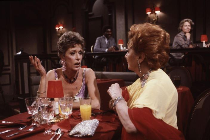 <p>At some point in the mid-80s, Carol Burnett made an appearance on <em>All My Children</em>, her favorite soap opera. She played a long-lost member of the Wallingford family from the wrong side of town, and her character was endlessly amusing.<br></p>