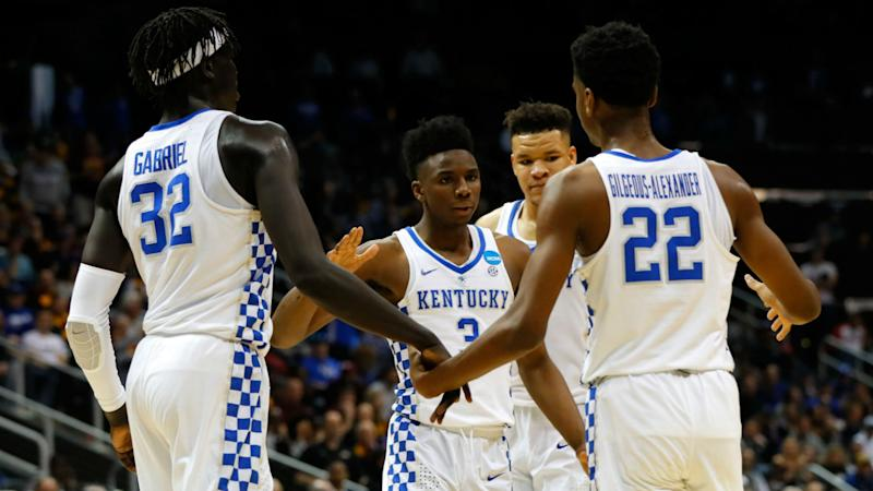 Kentucky opponents could be shaking next season if the right Cats delay NBA entry