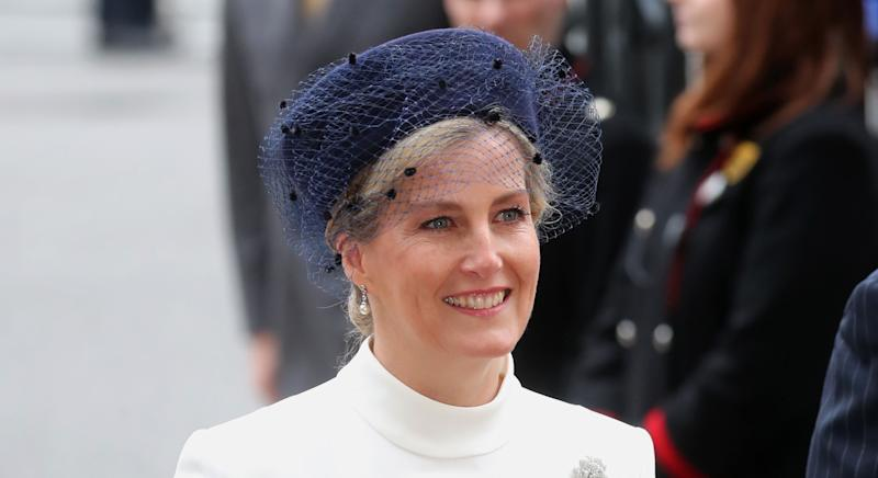 LONDON, ENGLAND - MARCH 09: Sophie, Countess of Wessex attends the Commonwealth Day Service 2020 at Westminster Abbey on March 09, 2020 in London, England. The Commonwealth represents 2.4 billion people and 54 countries, working in collaboration towards shared economic, environmental, social and democratic goals. (Photo by Chris Jackson/Getty Images)