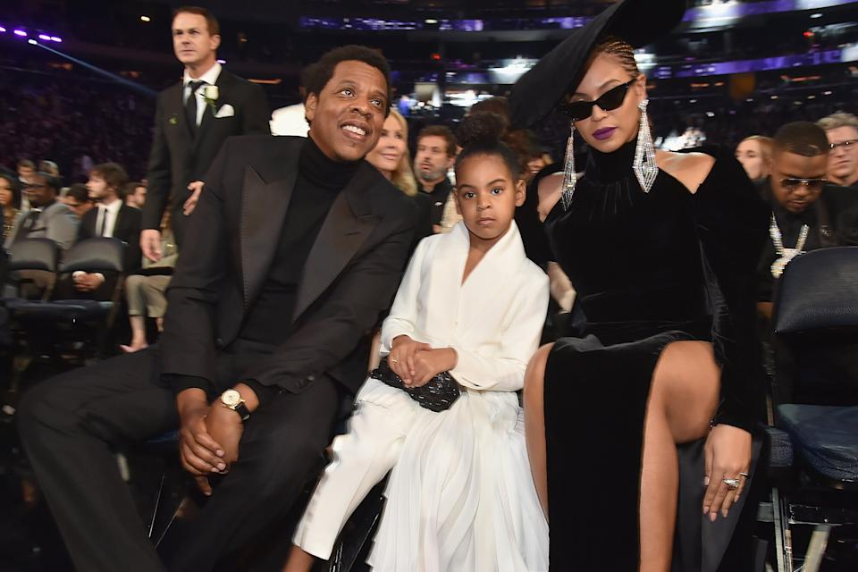 Beyonce & Jay-Z's Daughter Blue Ivy Is A Grammy Nominee