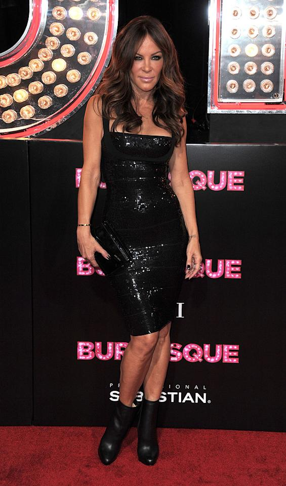 """<a href=""""http://movies.yahoo.com/movie/contributor/1800082448"""">Robin Antin</a> at the Los Angeles premiere of <a href=""""http://movies.yahoo.com/movie/1810125282/info"""">Burlesque</a> on November 15, 2010."""