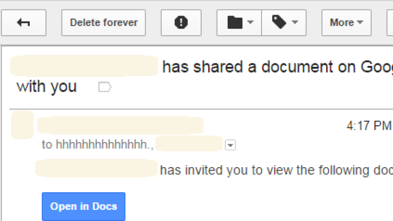 Someone 'has shared a document on Google Docs with you': Watch out for this new phishing scam