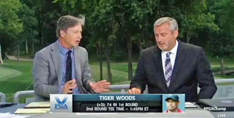 golf channel on tiger woods