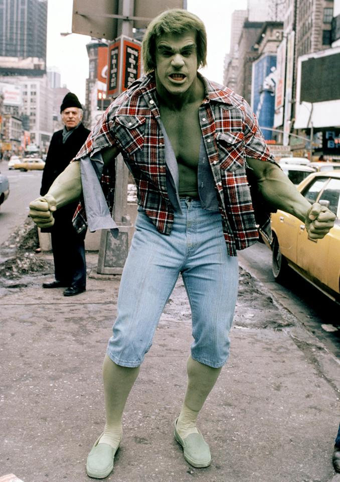 "<strong>WORST:</strong> Lou Ferrigno, ""<a href=""http://tv.yahoo.com/incredible-hulk/show/31228/"">The Incredible Hulk</a>""<br><br>  Well, we can say this much for the world-class bodybuilder: Very few human beings had the massive physique needed to convincingly play the monstrous alter ego of scientist David Banner on CBS's 1977-82 comic book adaptation. (Arnold Schwarzenegger auditioned for the role but was deemed too short.) But Ferrigno didn't exactly need to clear off space in his bodybuilding trophy case for any Emmys -- although if there were a category for Best Car Throwing by a Radioactive Green Creature, he'd be a shoo-in. Nowadays, you can see Ferrigno angling for Donald Trump's approval on the current season of NBC's ""<a href=""http://tv.yahoo.com/apprentice/show/35539"">Celebrity Apprentice</a>."" Just don't make him angry, Donald; you wouldn't like him when he's angry."
