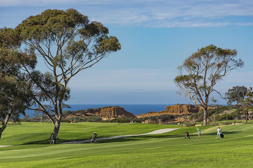 <p><strong>Let's start big picture. What's the vibe here?</strong><br> The iconic Torrey Pines Golf Course is known for its two 18-hole championship courses that sit on a cliff overlooking the Pacific. The South Course is the more challenging of the two and hosts the annual Farmers Insurance Open. Tiger Woods has clinched career-defining wins here, and word is former President Barack Obama has teed off at Torrey Pines, too.</p> <p><strong>What are the courses like?</strong><br> From the scenery and challenging greens to the prestige factor, this course is a bucket list destination for avid golfers. There's diverse terrain, ocean views, and hang gliders usually floating around holes 12 and 13 on the south course. Note that portions of the south course are currently under construction for the 2021 U.S. Open.</p> <p><strong>Is it taxing or confusing to get around?</strong><br> The course is fairly straightforward. The staff can be a bit of a mixed bag in terms of helpfulness.</p> <p><strong>All said and done, what—and who—is this best for?</strong><br> Big-time golf fans with cash to burn need only apply. Tee times are often limited (reservations recommended) and it'll run you about $200 per person to play here.</p>