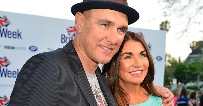 Vinnie Jones lost his wife Tanya in July (Getty)
