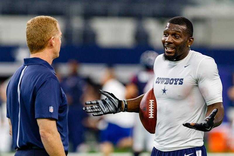 Dez Bryant is happy to see Jason Garrett go. (Andrew Dieb/Icon Sportswire/Getty Images)