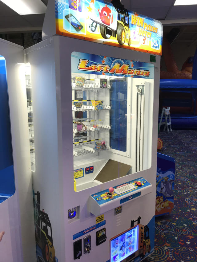 A little boy crawled into a prize machine at an Oklahoma play space and became trapped inside. Why does this keep happening? (Photo: EMSA)