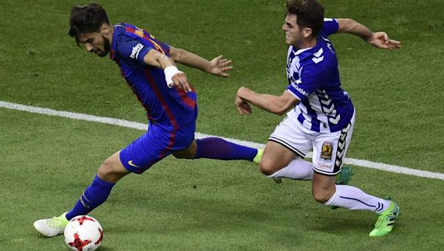 <p>Eyebrows were raised when Barcelona splashed out 35m euros for Andre Gomes last summer, and the season that followed ensured that no questions have been answered. He made less key passes per game (0.4) than Javier Mascherano, and made less passes per game (32.5) than Marc-Andre ter Stegen. Whilst he possesses talent as a midfielder, it's not in the form of a Barcelona player. </p> <br><p>Rumours suggest that the club are looking to cut their losses on the Portuguese international, and a move to another big club could be in the offing. </p> <br><p><strong>Potential Destination: Chelsea</strong></p>