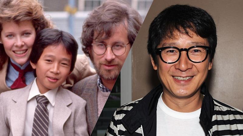 Jonathan Ke Quan then and now (credit: Paramount)