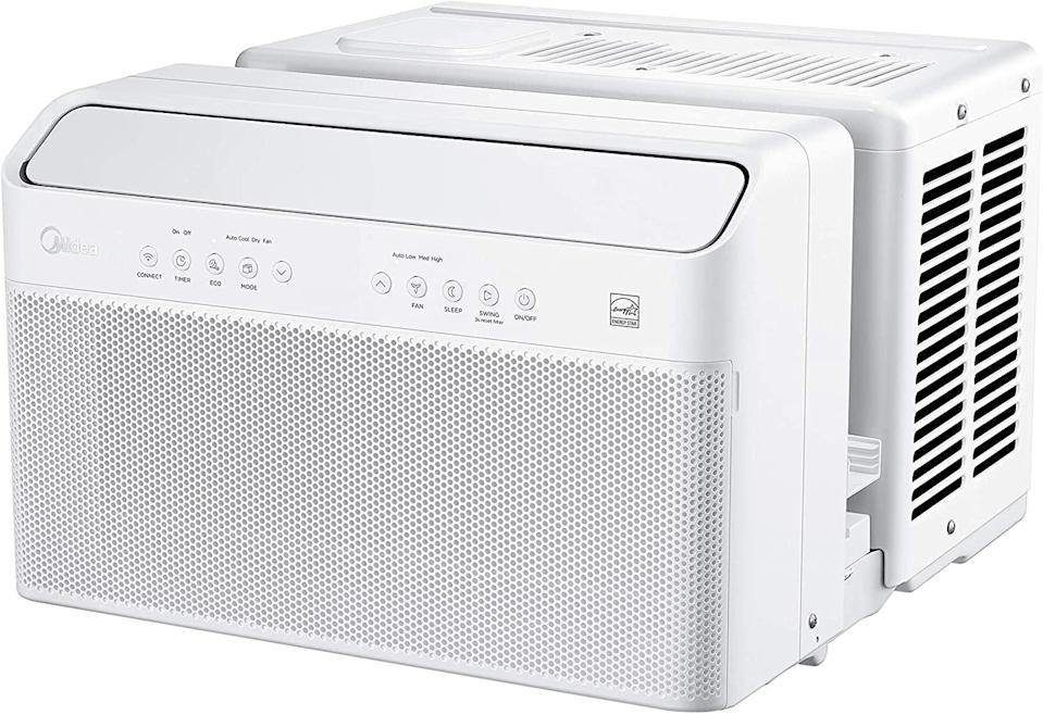 <p>The <span>Midea U Inverter Window Air Conditioner</span> ($469) is nine-times quieter than the average window AC unit, which makes it perfect for households with small children - or adults who like to nap. Its unique design also allows you to open your window while it's installed, so you can cool down while letting more fresh air in. </p>