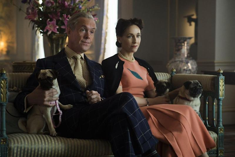 The couple are depicted as madly in love on Netflix show, The Crown. Photo: Netflix