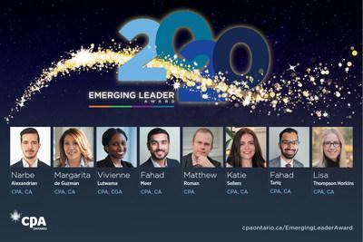 CPA Ontario congratulates its 2020 Emerging Leaders (CNW Group/Chartered Professional Accountants of Ontario)