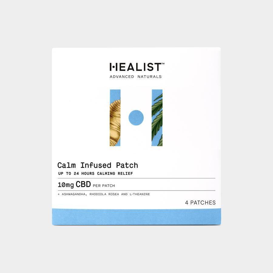 """<h3>Healist Calm Infused Patch</h3><br>These transdermal patches are infused with a soothing blend of organically farmed broad-spectrum hemp extract, Ashwagandha Extract, Rhodiola Rosea Extract, and L-Theanine to promote a sense of calm. <br><br><strong>Healist</strong> Calm Infused Patch (4-Pack), $, available at <a href=""""https://go.skimresources.com/?id=30283X879131&url=https%3A%2F%2Fhealistnaturals.com%2Fcollections%2Fshop%2Fproducts%2Fcbd-patch-for-stress"""" rel=""""nofollow noopener"""" target=""""_blank"""" data-ylk=""""slk:Healist"""" class=""""link rapid-noclick-resp"""">Healist</a>"""