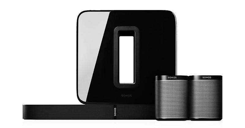 Sonos 5.1 surround sound set.