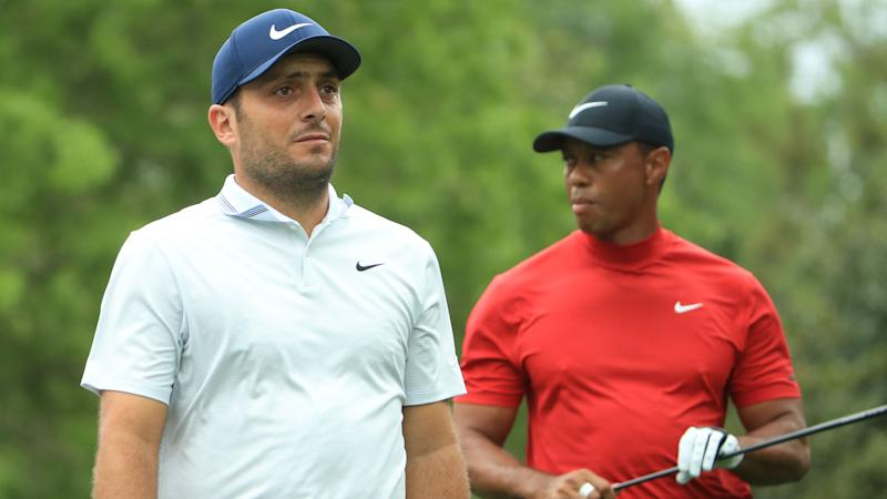Molinari one clear of Woods with nine to play at Masters