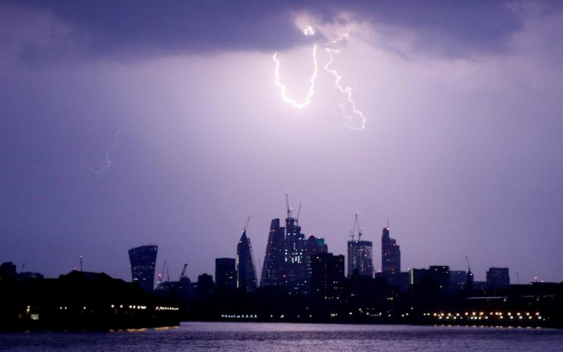 The City of London is under a cloud after Theresa May's concessions to the EU over financial services. - REUTERS