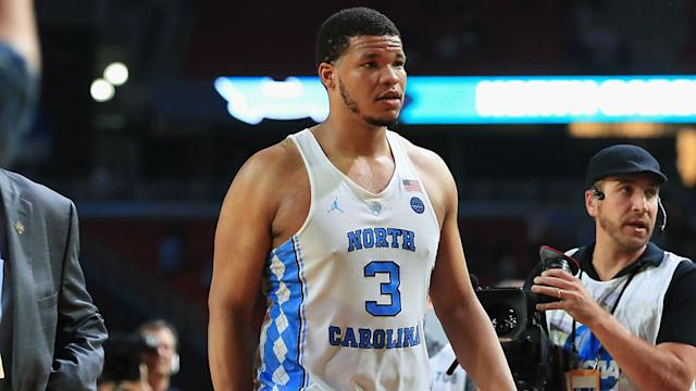 Forget about the missed free throws. Kennedy Meeks sealed the deal to help advance the Tar Heels to the title game.