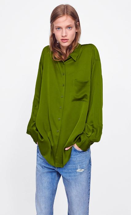 e2c9e7742111c Ruth Langsford s silk Zara shirt is SO chic - and selling out fast
