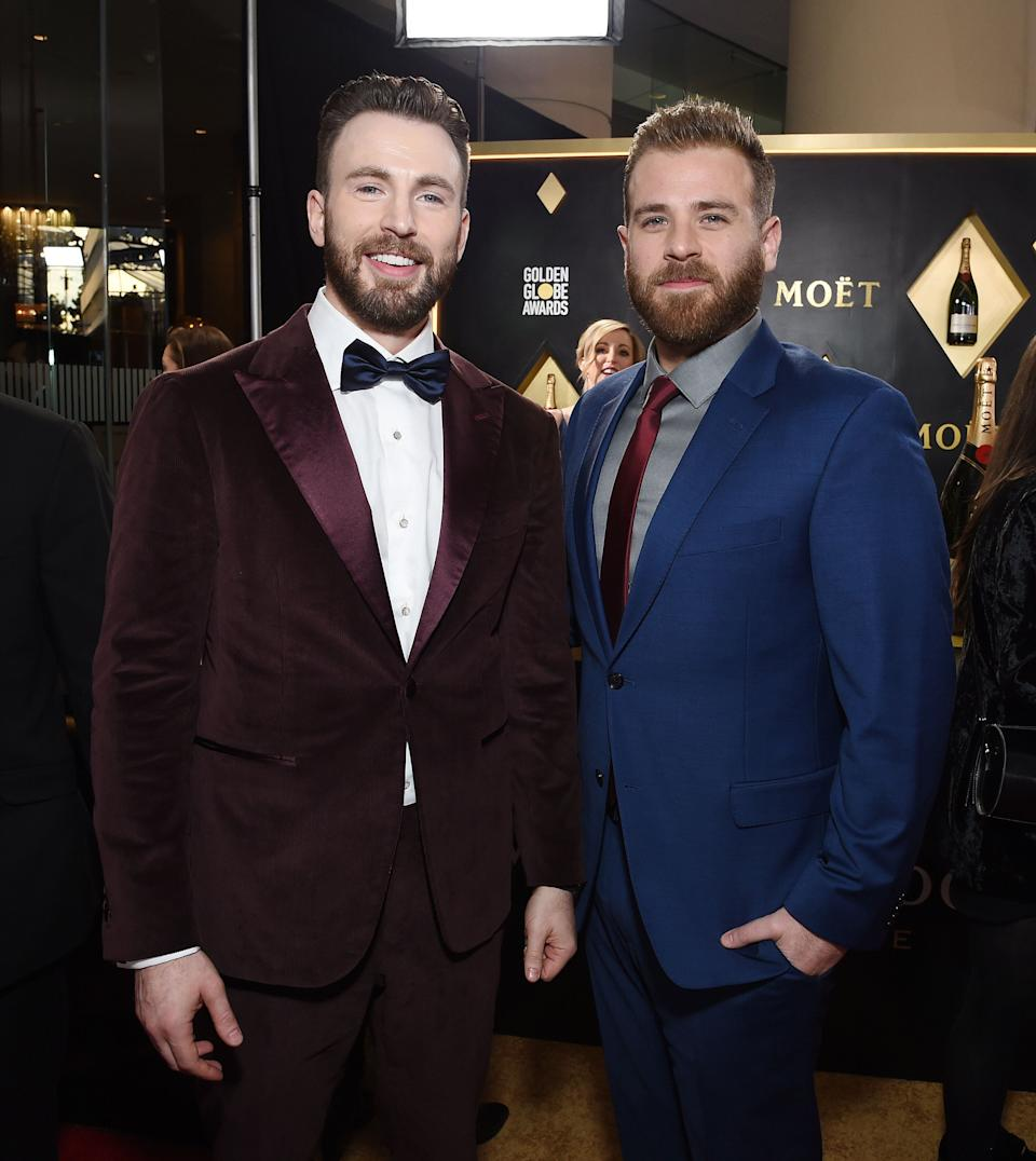 "<a href=""https://www.huffpost.com/entertainment/topic/chris-evans"" target=""_blank"" rel=""noopener noreferrer"">Chris Evans's</a> little brother is actor <a href=""https://www.huffpost.com/topic/scott-evans"" target=""_blank"" rel=""noopener noreferrer"">Scott Evans</a>, who's best known for playing police officer Oliver Fish on the ABC daytime soap opera ""One Life to Live."""