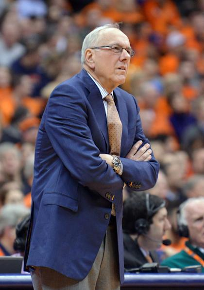 Jim Boeheim received a nine-game suspension as part of the NCAA's punishment of Syracuse. (USA Today)