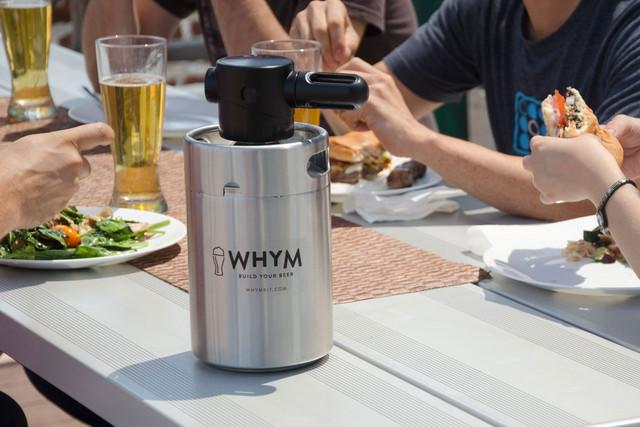 whym home beer making kit launches homebrew