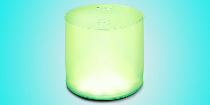 """<div class=""""caption""""> A waterproof outdoor light that is collapsible, solar-powered, and projects eight different colors? We never knew we needed such a thing! Light up the pool for a party, or set the mood for an outdoor dinner with this versatile inflatable contraption. <a href=""""https://www.amazon.com/MPOWERD-Luci-Essence-Multi-Color-Inflatable/dp/B01N6W7PZB/ref=asc_df_B01N6W7PZB/"""" rel=""""nofollow noopener"""" target=""""_blank"""" data-ylk=""""slk:SHOP NOW"""" class=""""link rapid-noclick-resp"""">SHOP NOW</a>: Multi-color inflatable solar light by MPOWERD, $22, amazon.com </div> <cite class=""""credit"""">Photo courtesy of Amazon</cite>"""