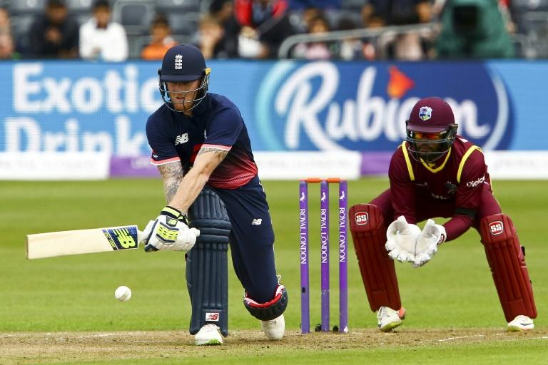 """Suspended England allrounder Ben Stokes (L) said he was in New Zealand to work on """"my golf swing"""" and to see his parents, and was tight-lipped about playing first-class cricket for Canterbury"""
