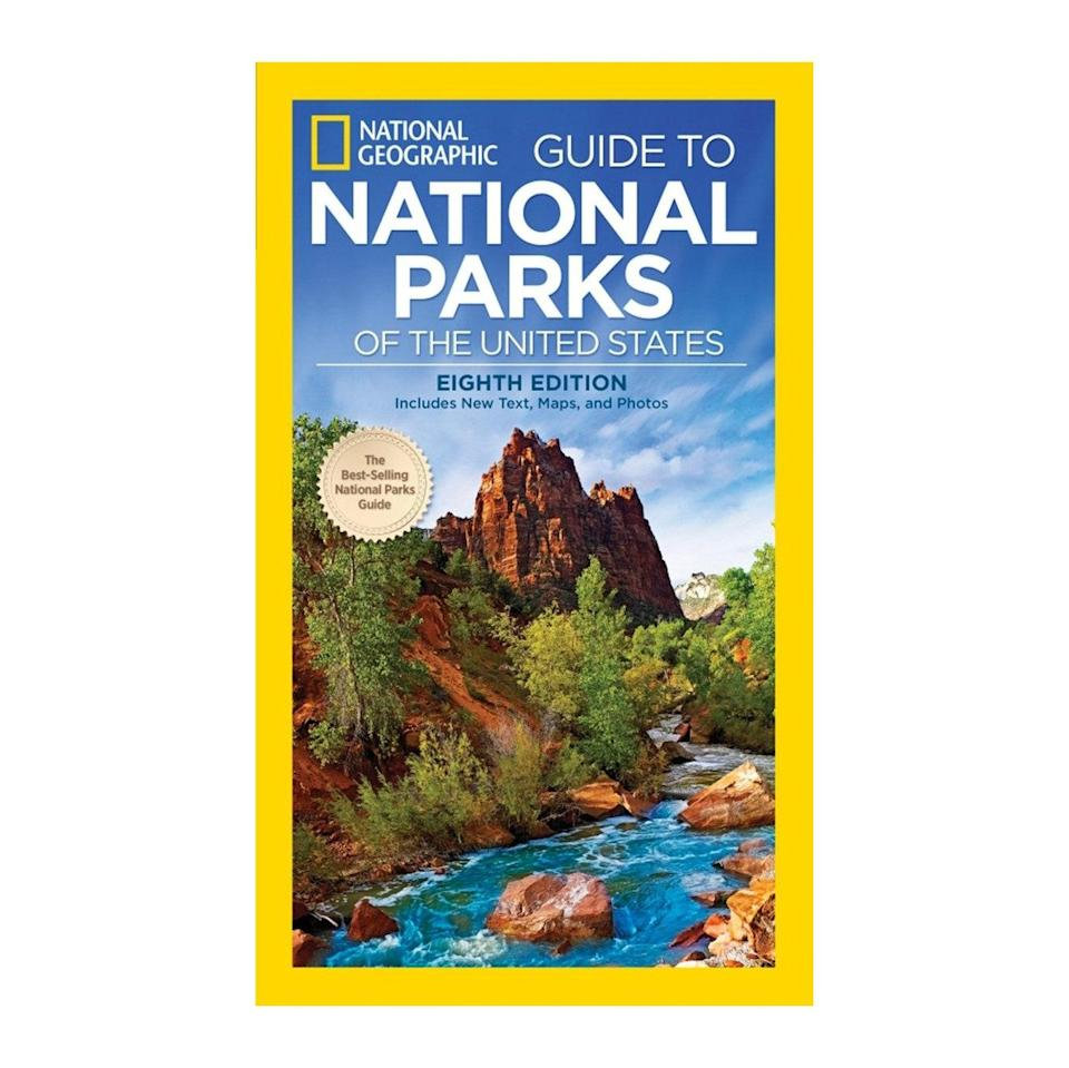 """A coffee table magazine that'll actually get read this year. $19, Amazon. <a href=""""https://www.amazon.com/National-Geographic-Guide-United-States/dp/1426216513/ref=pd_bxgy_img_2/131-4780016-3524569"""" rel=""""nofollow noopener"""" target=""""_blank"""" data-ylk=""""slk:Get it now!"""" class=""""link rapid-noclick-resp"""">Get it now!</a>"""