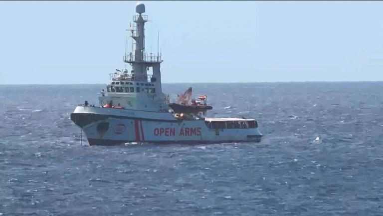 Both Italy and Malta have refused Open Arms permission to dock and unload its passengers