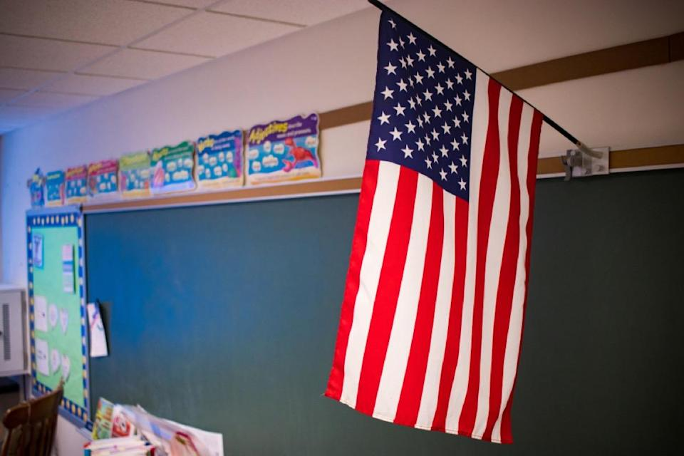 """""""I pledge allegiance to the flag of the United States of America…"""" How many times did you stand and recite those words when you were growing up? While the <a href=""""http://bostonreview.net/politics/jack-david-eller-pledge-allegiance"""" rel=""""nofollow noopener"""" target=""""_blank"""" data-ylk=""""slk:Pledge of Allegiance"""" class=""""link rapid-noclick-resp"""">Pledge of Allegiance</a> might feel like something that's been around forever, it was actually written in 1892 by <strong>Francis Bellamy</strong> as part of a contest designed to promote sales of the weekly children's magazine <em>Youth's Companion</em>. And while the Pledge today is quite similar to Bellamy's original version, it has undergone some significant changes over the years: Notably, the phrase """"under God"""" wasn't added until 1954."""