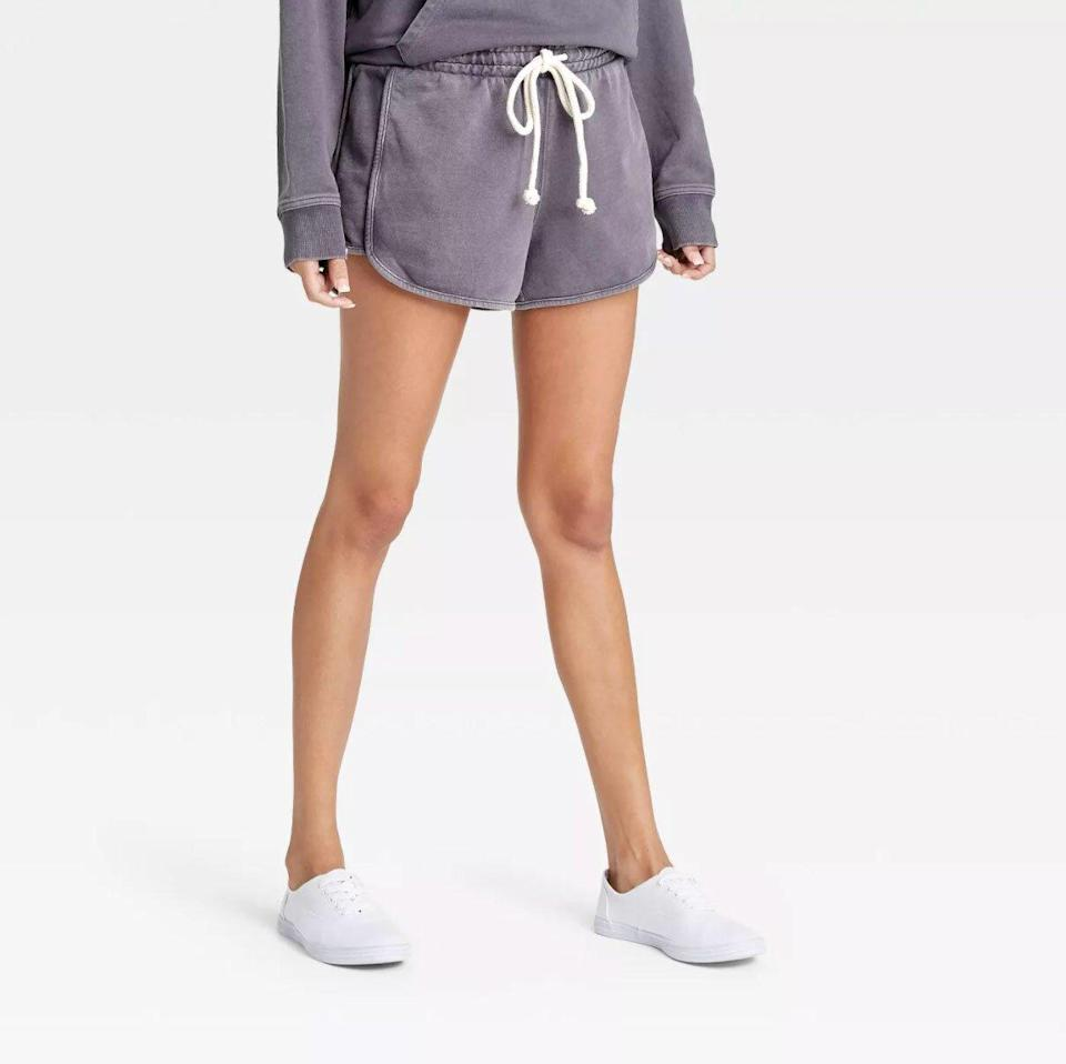 Universal Thread French Terry Mid-Rise Shorts