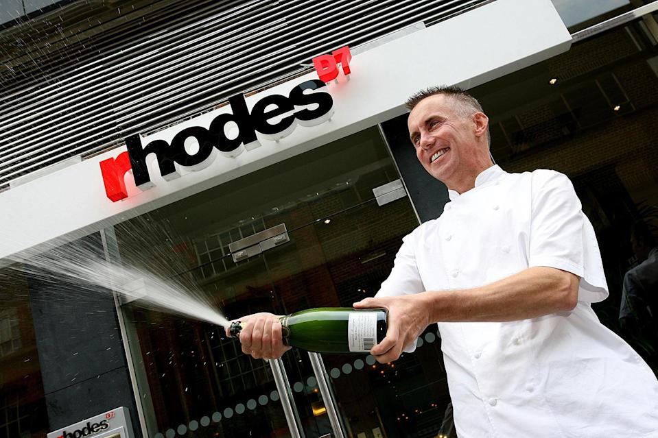Celebrity chef Gary Rhodes opens his new 250-seat brasserie, Rhodes D7, at the Capel Building, Dublin.