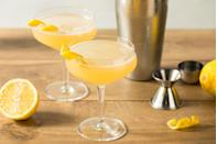 """<p>This cocktail is said to help nurse a hangover from the night before, thanks to the perky lemon juice. Swap your mimosa for a <a href=""""https://www.liquor.com/recipes/corpse-reviver-no-2/"""" rel=""""nofollow noopener"""" target=""""_blank"""" data-ylk=""""slk:Corpse Reviver"""" class=""""link rapid-noclick-resp"""">Corpse Reviver</a> the next time you need some low-carb hair of the dog.</p>"""