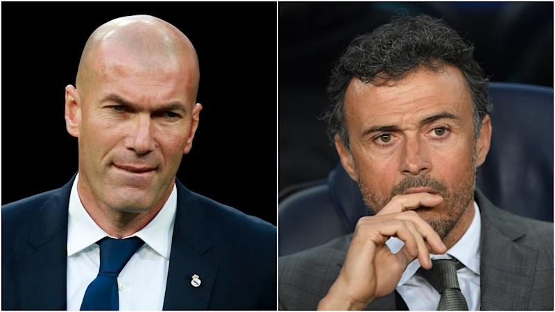 Is El Clasico decisive? Zidane and Luis Enrique take contrasting views