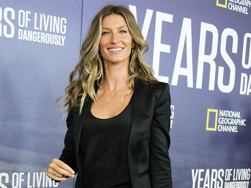 Gisele Bundchen 'optimistic' fashion industry can become sustainable